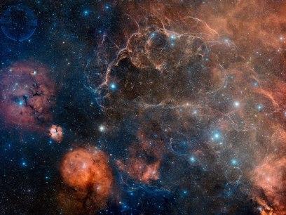 NASA Vela Supernova Remnant